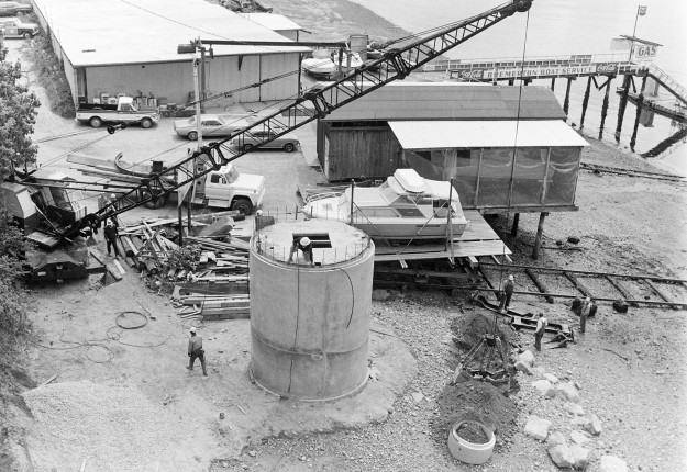 6/2/73 Waterfront Sewer Construction