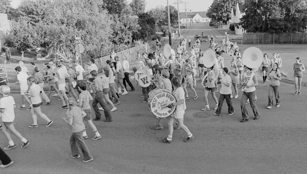07/26/73 West High Band Practice