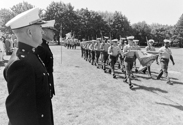 07/31/73 Change of Command