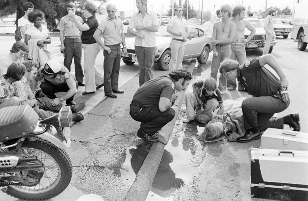 07/08/77 Wreck Cliff McNair Jr. / Bremerton Sun