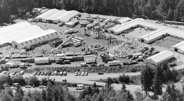 08/24/72 Fairground Aerial Richard Ellis / Bremerton Sun