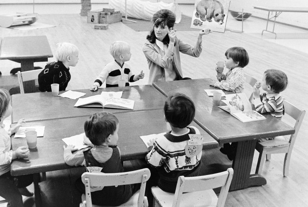 10/19/72 Preschool Two-Year-Olds Richard Ellis / Bremerton Sun