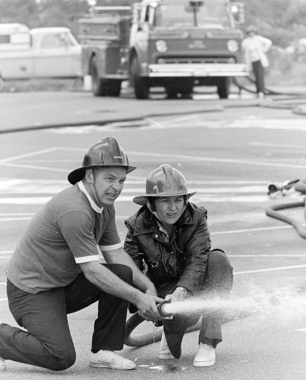 06/04/73 SK Fire Drill Cliff McNair Jr. / Bremerton Sun