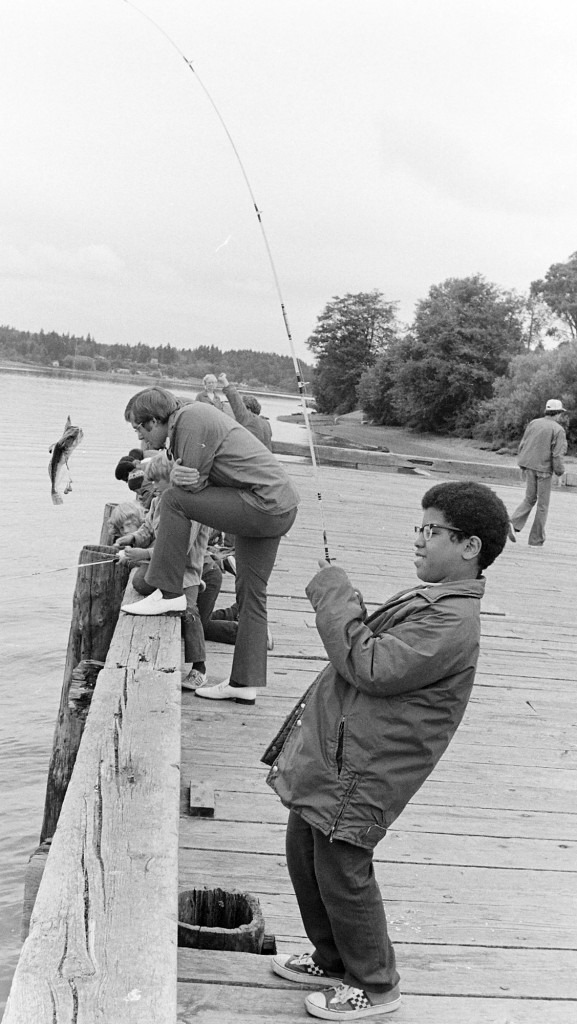 07/05/73 Park Dept. Fishing Derby RIchard Ellis / Bremerton Sun