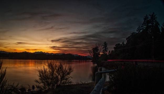 Tracyton Sunset by Kent Ferris