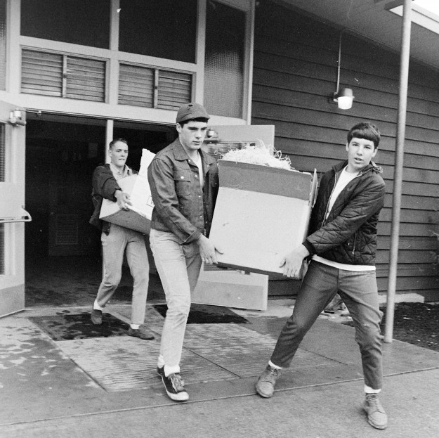 10/09/67 North Mason Move Richard Ellis / Bremerton Sun