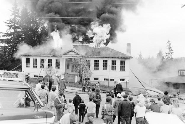 10/16/67 Olalla School Richard Ellis / Bremerton Sun