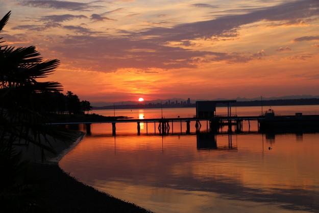 August 2015 Sunrises by Noelle Morris