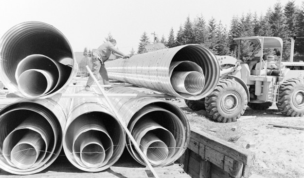 05/07/68 Large Pipe For Airport