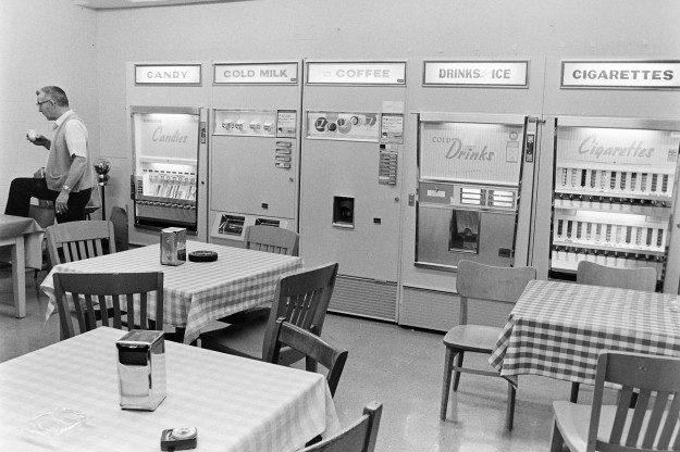 05/08/68 Lunch Room For Harry ***My guess is that this is actually the Sun's lunchroom***
