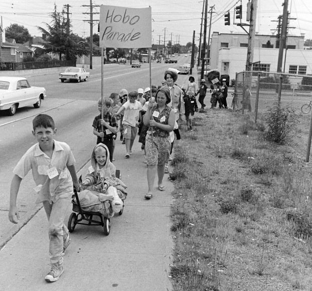 06/22/68 Little Hobo Parade @ Warren Ave. Playfield