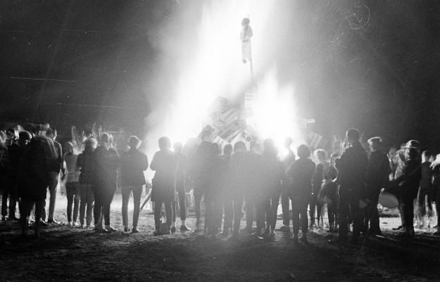 10/14/66 North Mason Bonfire