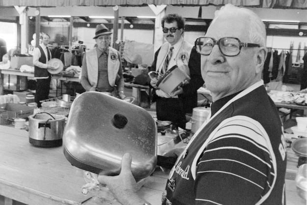 03/14/80 Lion's Flea Market Bob Reeder / Bremerton Sun