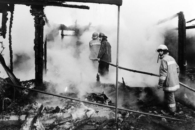 01/18/80 House Fire On Canal Ron Ramey / Bremerton Sun