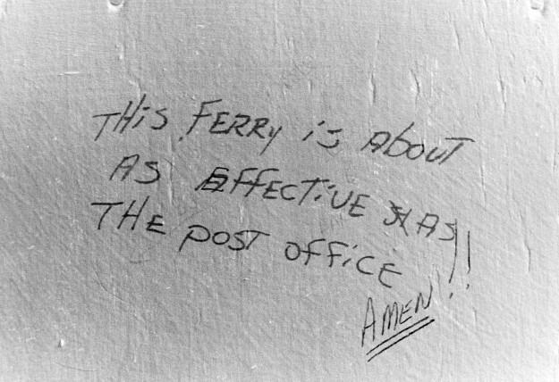 01/19/80 South Point Graffiti Cliff McNair Jr/ Bremerton Sun