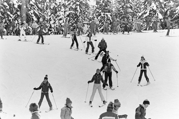 FRAMES ~ From The Archives 1980: ski school, ferry graffiti, Lofall ...