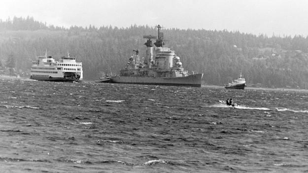 03/13/80 USS Chicago Steve Zugschwerdt / Bremerton Sun