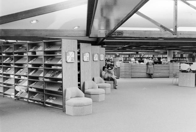 03/27/80 Regional Library Cliff McNair Jr/ Bremerton Sun