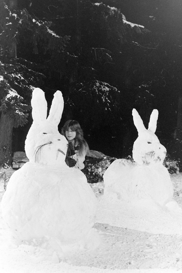 01/11/80 Snow Rabbits Cliff McNair Jr. / Bremerton Sun