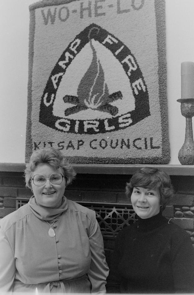 01/25/80 Campfire Leaders Cliff McNair Jr. / Bremerton Sun