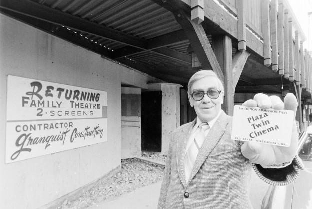 02/14/80 Port Orchard Theatre Cliff McNair Jr. / Bremerton Sun