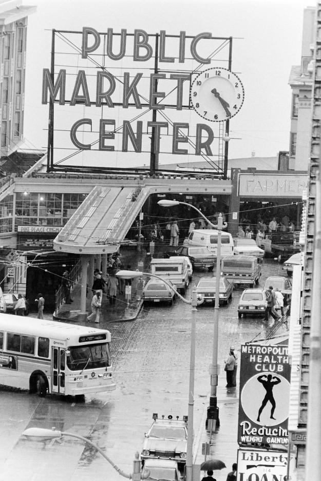 04/20/80 Pike Place Market Steve Zugschwerdt / Bremerton Sun