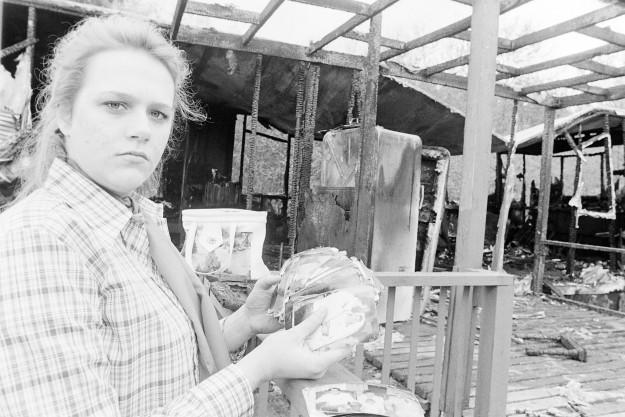 04/24/80 Trailer Fire Victim Bob Reeder / Bremerton Sun