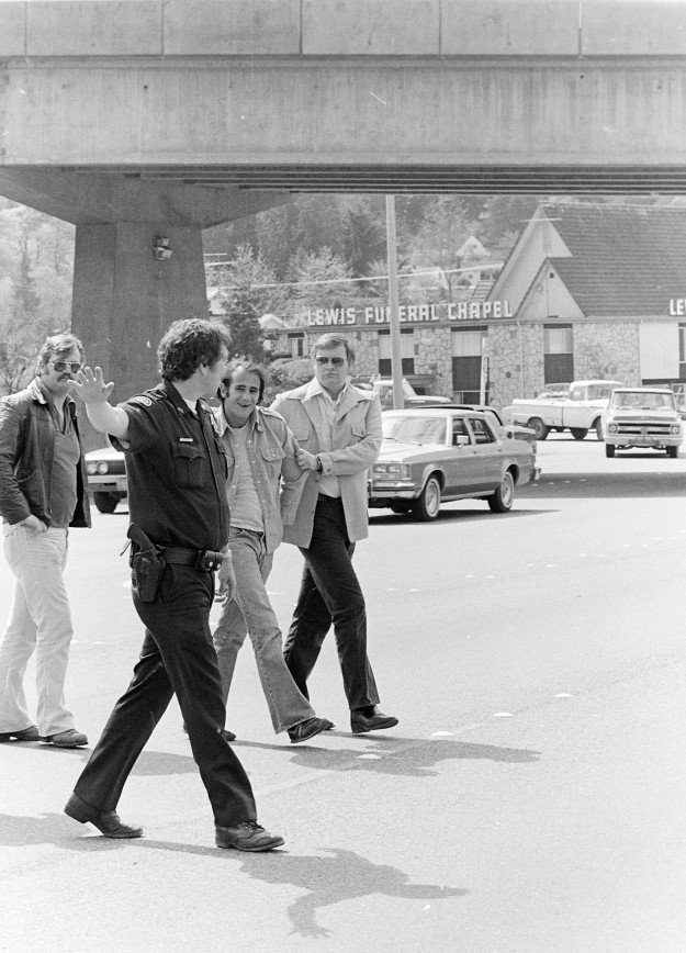 04/25/80 Armed Robbery Suspect Stopped Cliff McNair Jr. / Bremerton Sun