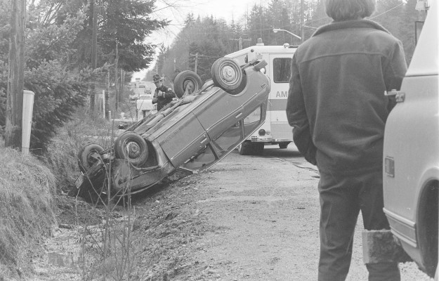 03/10/78 Accident Cliff McNair Jr. / Bremerton Sun
