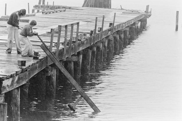 03/13/78 Harper Dock Bob Reeder / Bremerton Sun