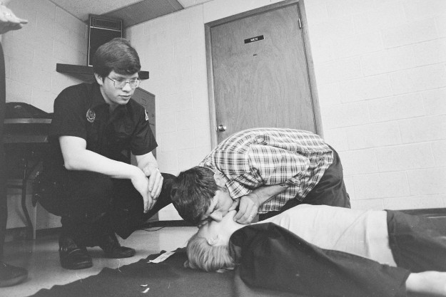 04/26/78 CPR Class Ron Ramey / Bremerton Sun