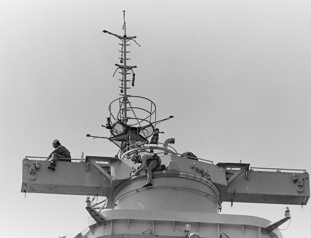 05/02/78 Navy League Visits Cliff McNair Jr. / Bremerton Sun