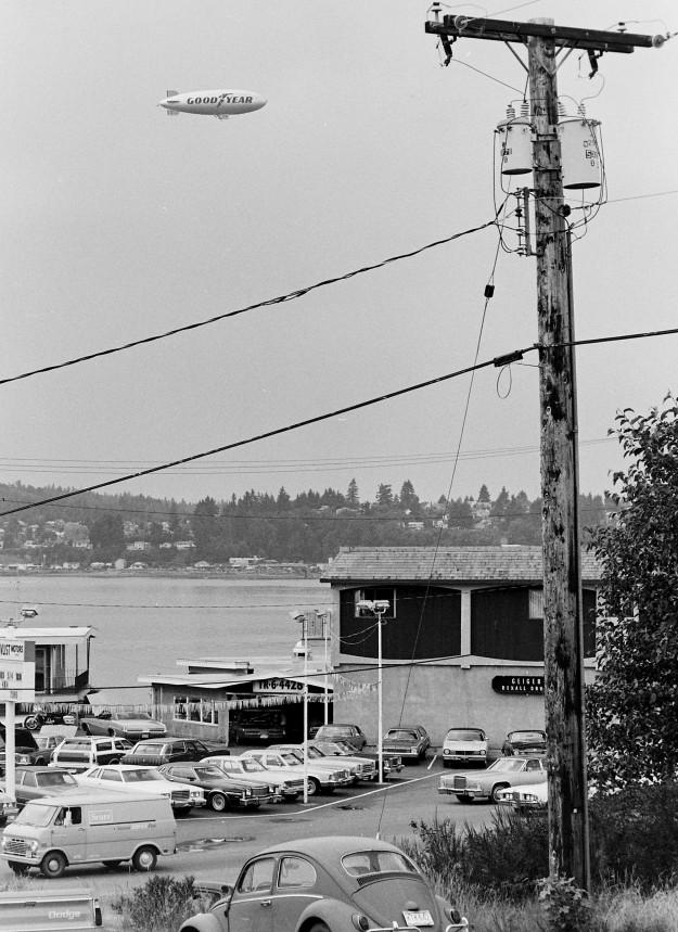 07/12/78 Blimp Cliff McNair Jr. / Bremerton Sun
