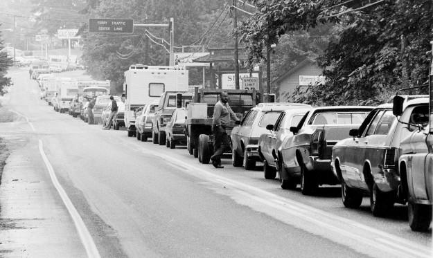 07/17/78 Kingston Ferry Traffic Cliff McNair Jr. / Bremerton Sun