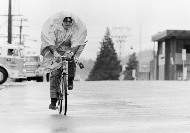 06/14/78 Poncho Bike Ride Bob Reeder / Bremerton Sun
