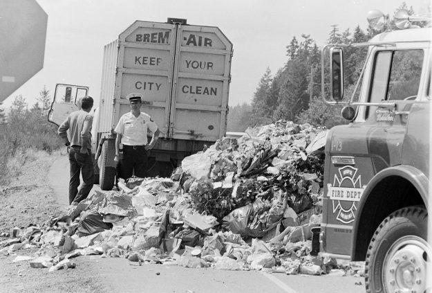 06/24/78 Garbage Truck Fire Bob Reeder / Bremerton Sun