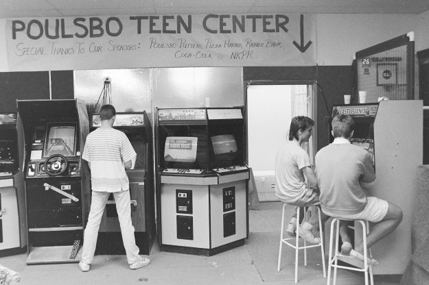 10/15/88 Poulsbo Teen Center Theresa Aubin Ahrens / Bremerton Sun