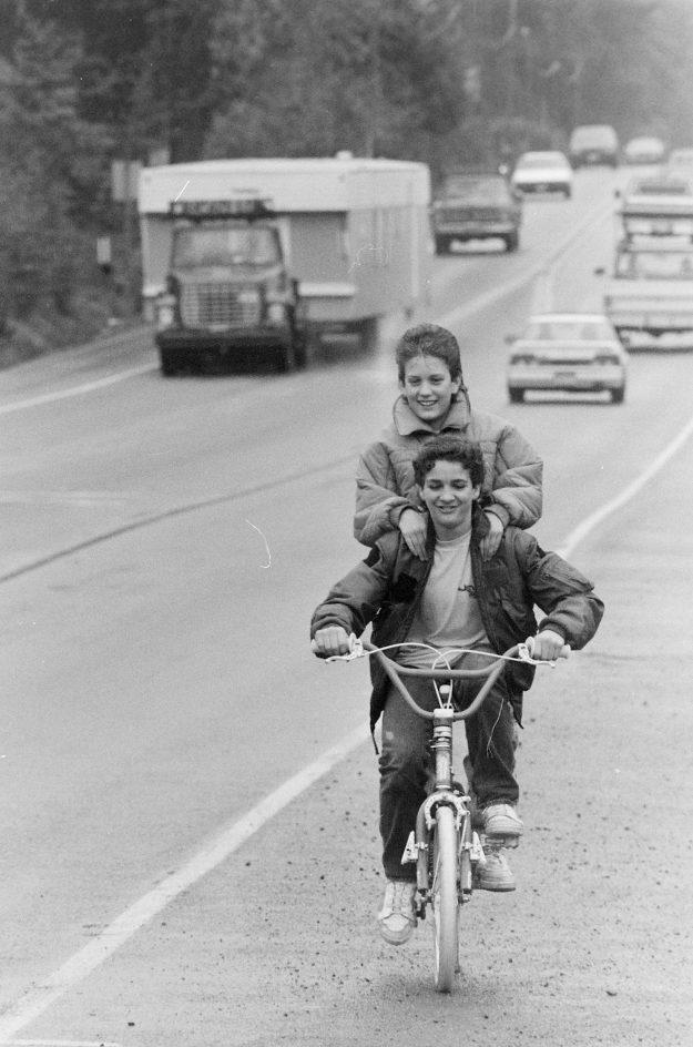 10/19/88 Bike Feature Steve Zugschwerdt / Bremerton Sun