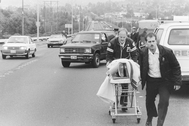 10/19/88 Warren Bridge Accident Steve Zugschwerdt / Bremerton Sun