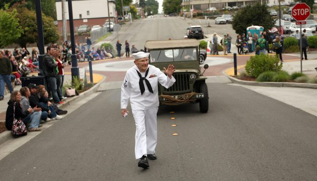 Armed Forces Day Parade in Bremerton, Wash. on Saturday, May 16, 2015. (MEEGAN M. REID / KITSAP SUN)