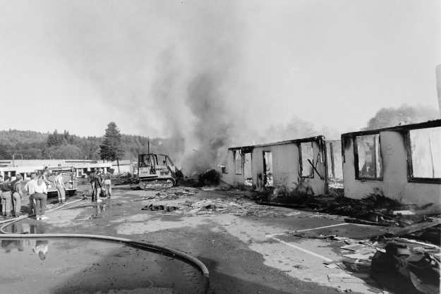 10/23/88 Bremerton Motel Burn
