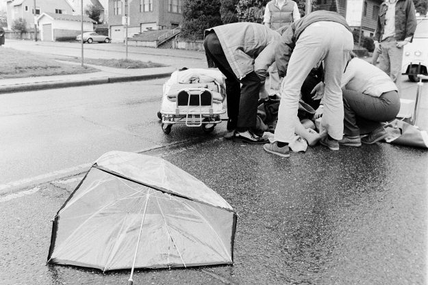 03/24/78 Car vs Pedestrian Accident Ron Ramey / Bremerton Sun