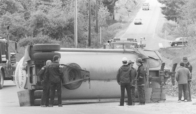 05/23/78 Propane Truck Cliff McNair Jr. / Bremerton Sun