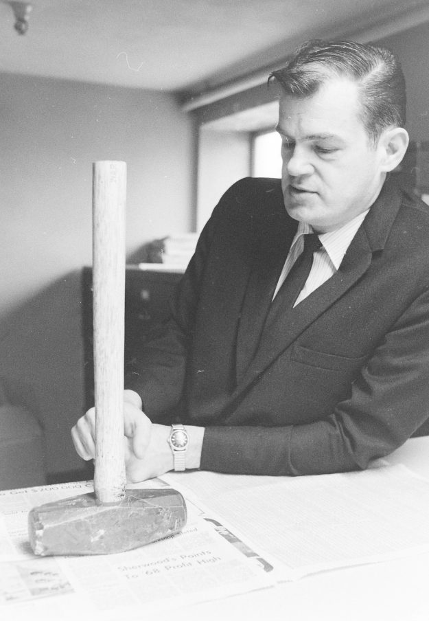 02/10/69 Hammer Used In Bremer Burgalry