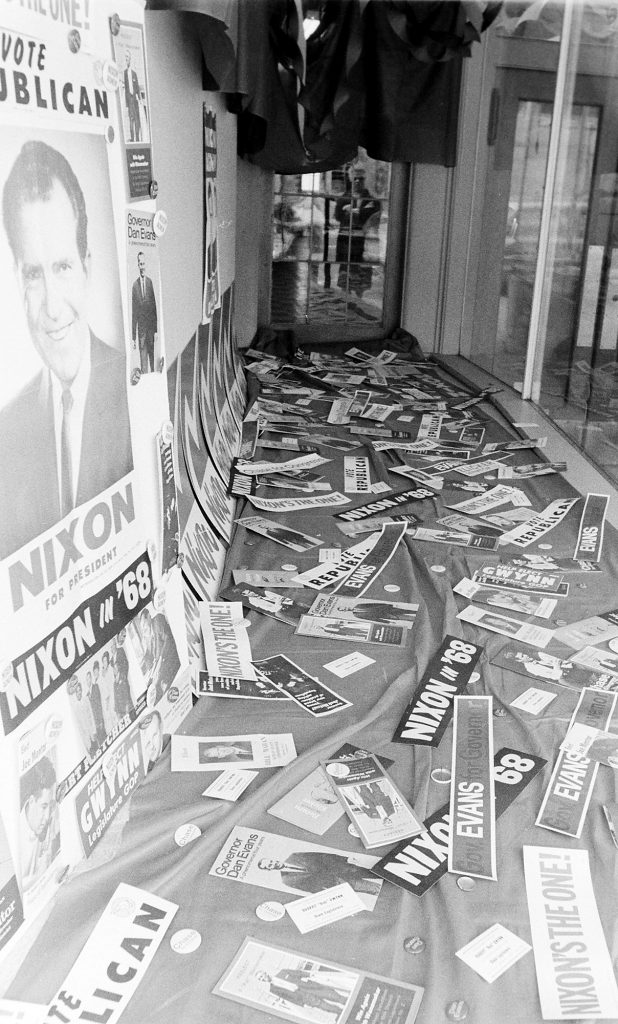 10/17/68 GOP and DEM headquarters