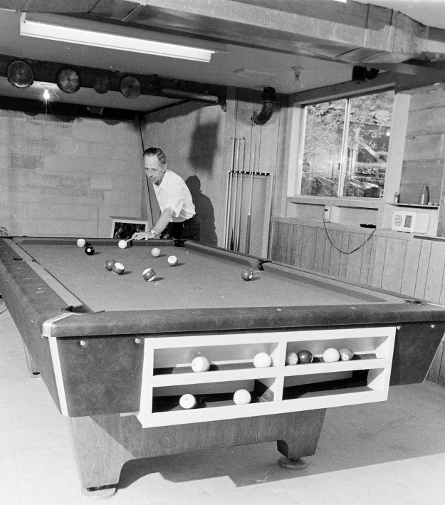 11/19/68 Homemade Pool Table