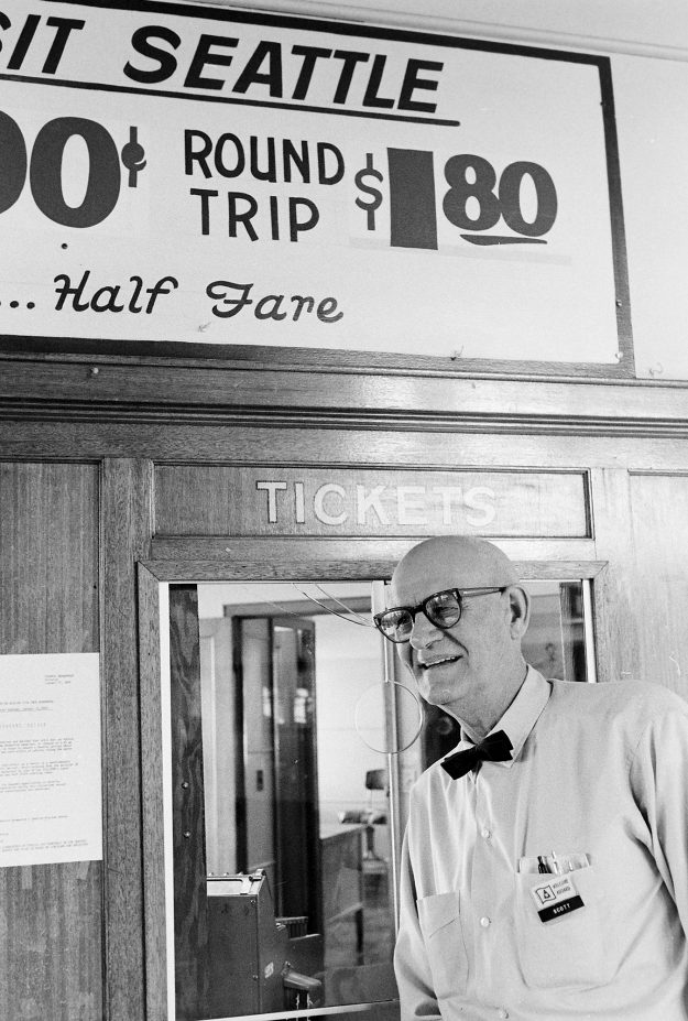 01/23/69 Retiring Ticket Taker
