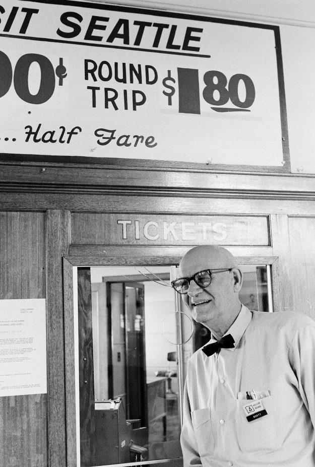 01/23/69 Retiring Ticket Taker