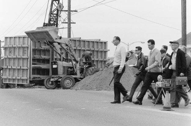 05/14/68 Construction on Veneta and 6th.