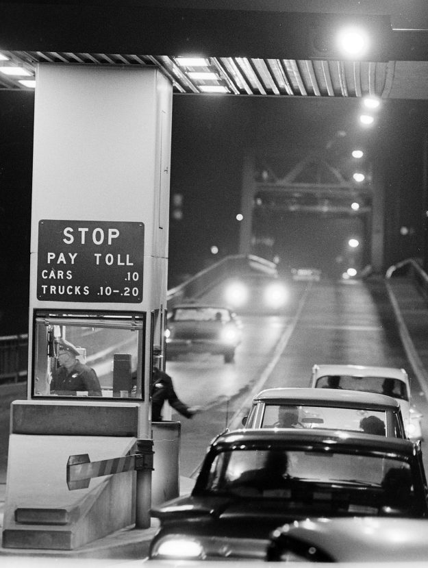 01/30/62 Manette Bridge At Night
